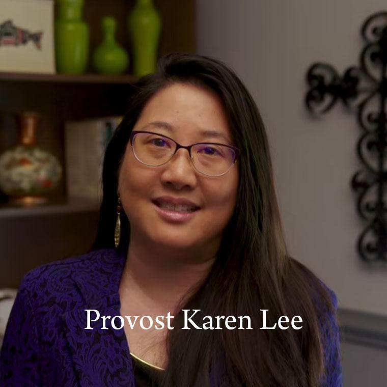 Provost Karen Lee