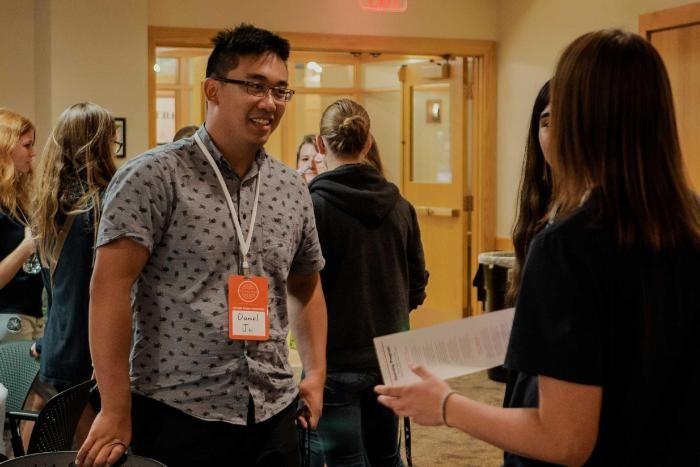 Wheaton College Transfer Student at Orientation