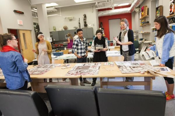 Art Students at Wheaton College