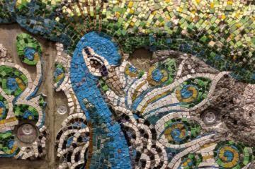 Luminous One Mosaic at Wheaton College