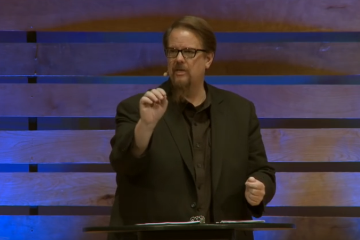 Ed Stetzer speaking at Amplify Conference