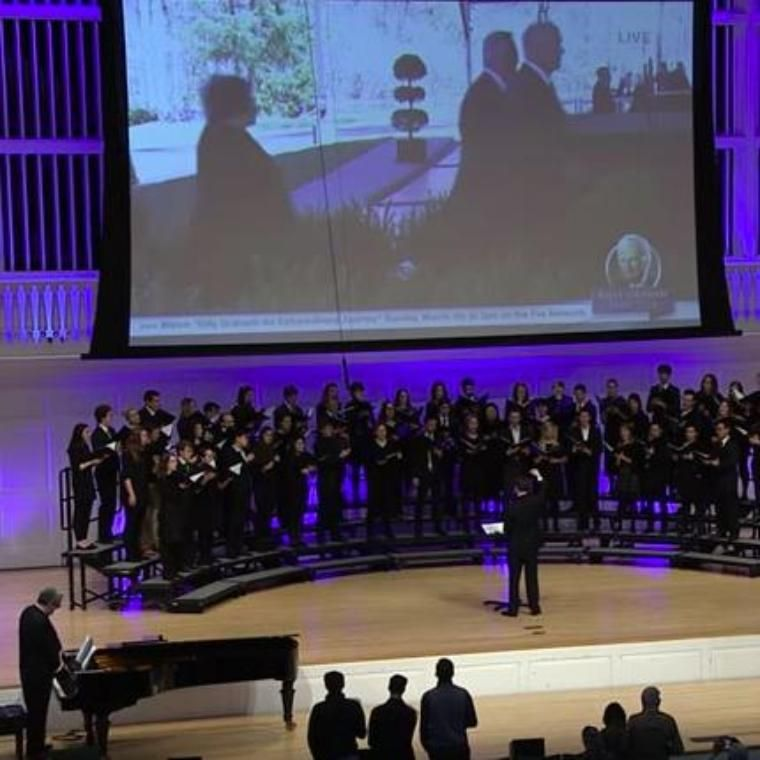 Billy Graham Memorial Service at Wheaton College
