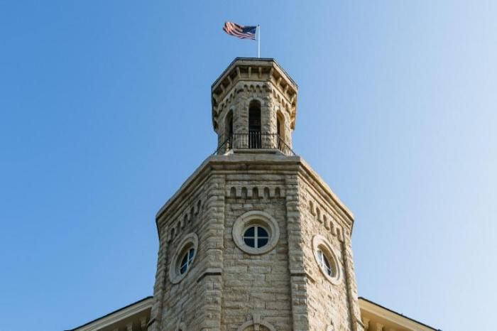 Blanchard Tower at Wheaton College IL