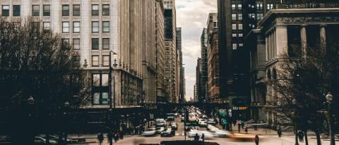 Downtown Chicago Streets