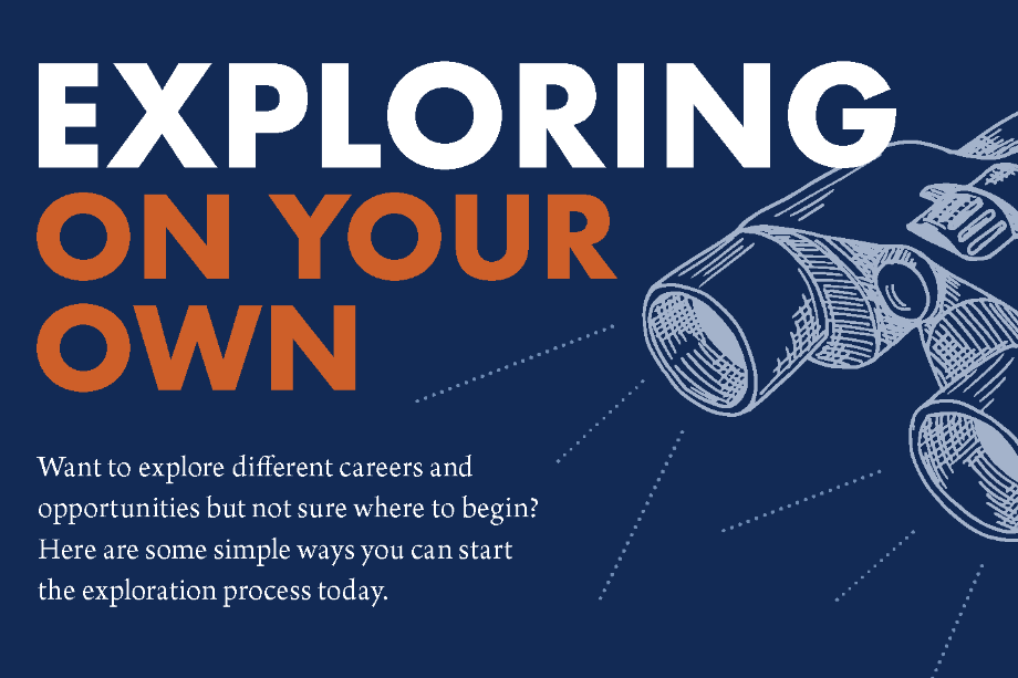 Exploring Career Possibilities on Your Own
