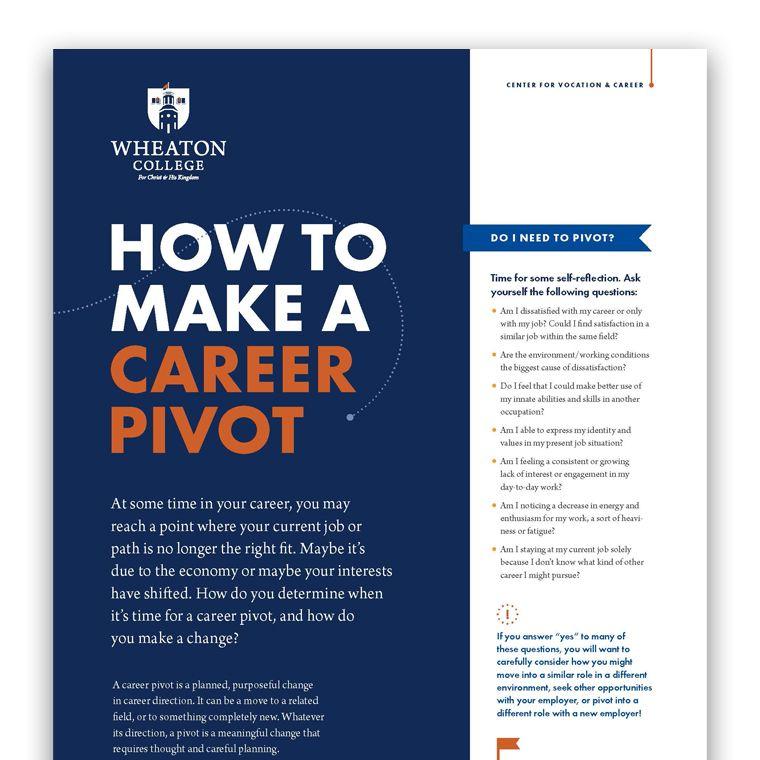 How to Make a Career Pivot 760 x 760