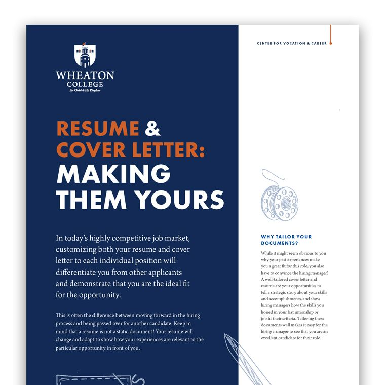 Resume and Coverletter Customization 760 x 760