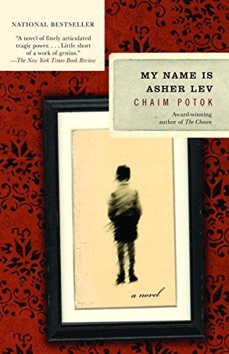 My Name Is Asher Lev, First Anchor Books Edition 2003, Cover design by Peter Mendelsund, Cover sketch based on a photograph by Ray Dean / Photonica
