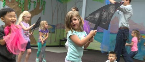 EC preschool music class