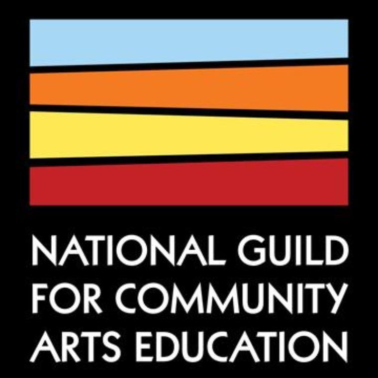 National Guild for Community Arts Ed. Logo