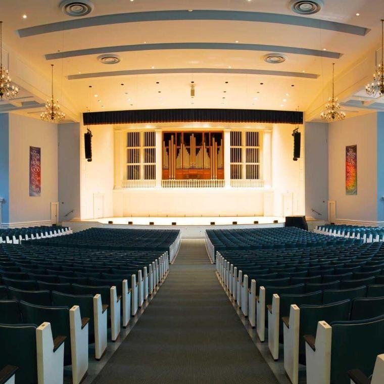 Edman Chapel Wheaton College Interior