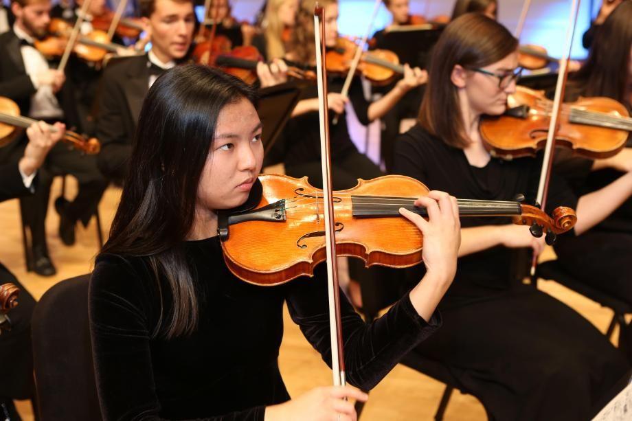 Symphony Orchestra Violinist Wheaton College IL