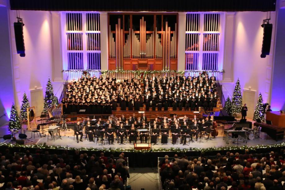 Wheaton College IL Christmas Festival
