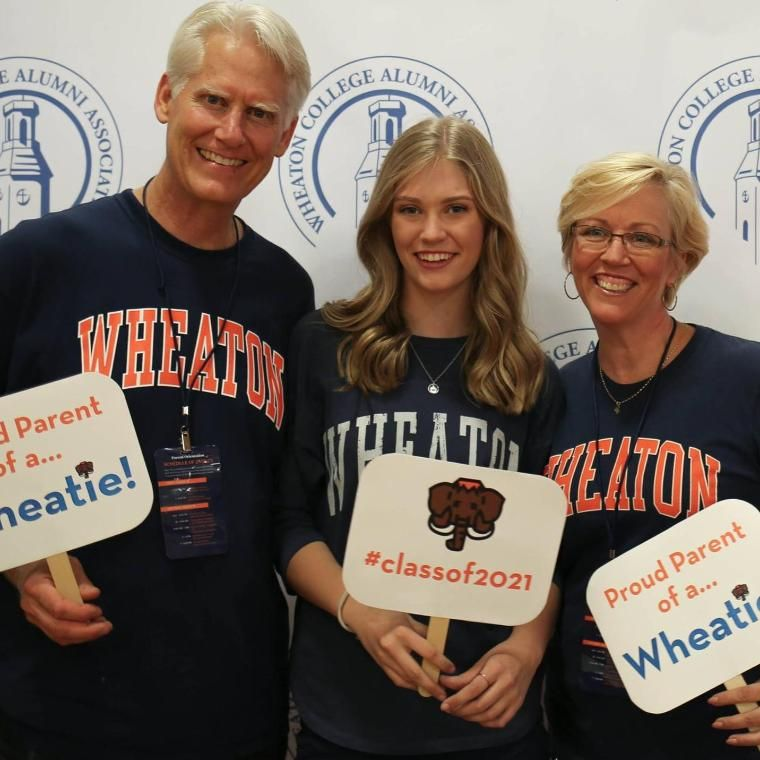Wheaton College IL Parents and Student