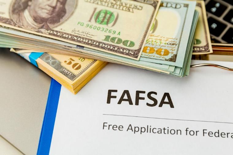 FAFSA with cash
