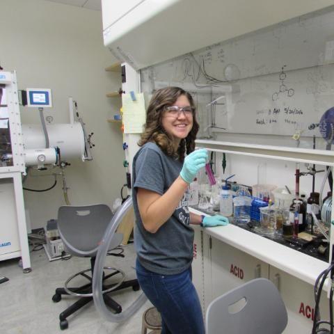 Wheaton College Chemistry Student Johanna Barbour