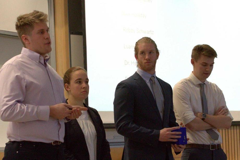 Wheaton College IL Engineering Students