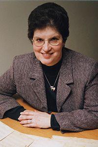 Edith Blumhofer faculty emeriti photo