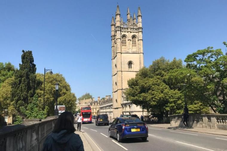Street in Oxford, England