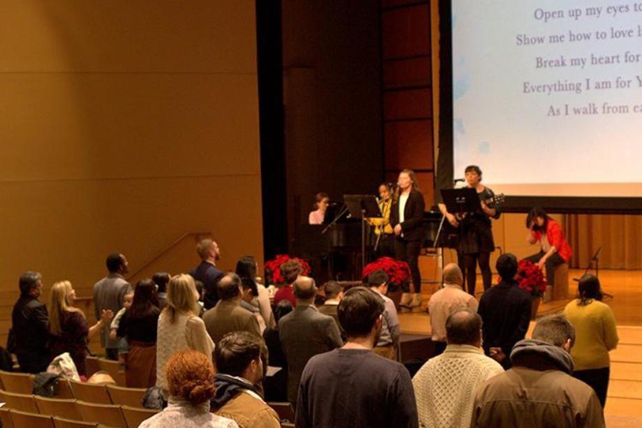 Grad Chapel Worship Barrows Auditorium Our People Variant