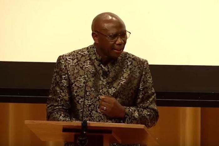 David Kasali speaking at 2017 HNGR Symposium