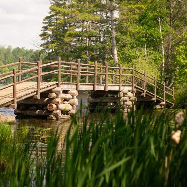 HoneyRock Bridge Wheaton College Three Lakes WI