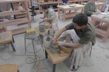 ceramics shop at honeyrock