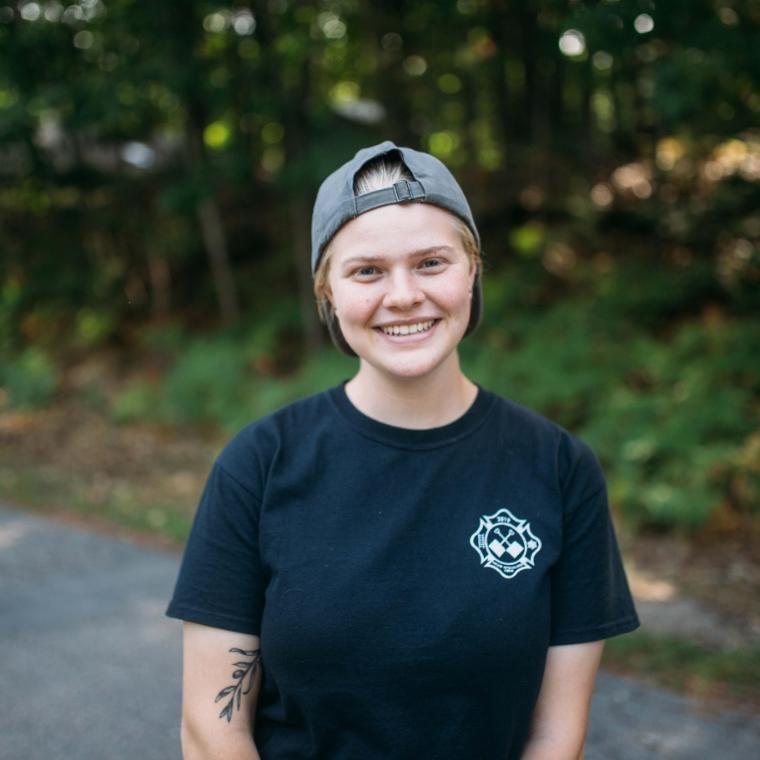 Vanguard Allie smiling