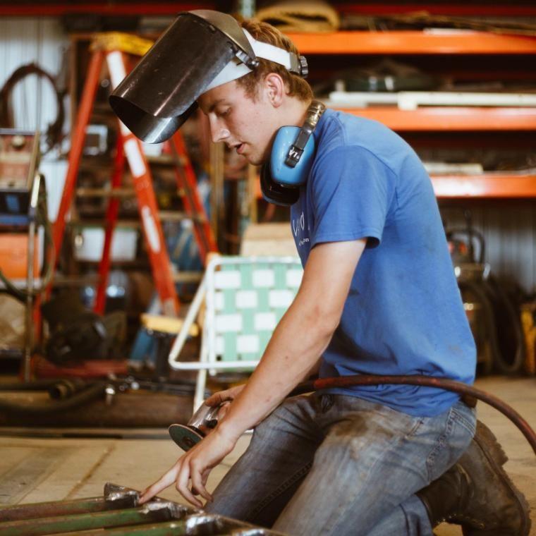 vanguard brian welding