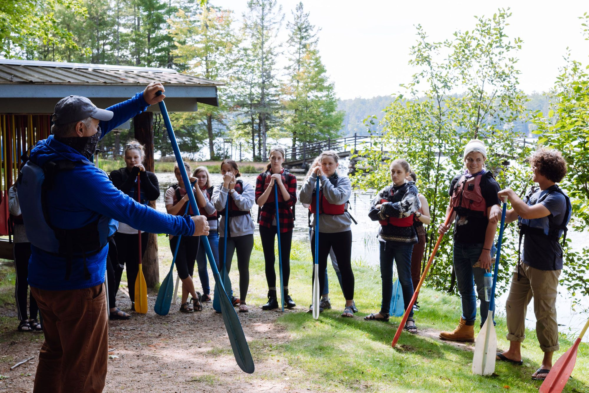 2020 Vanguards Training for Canoeing