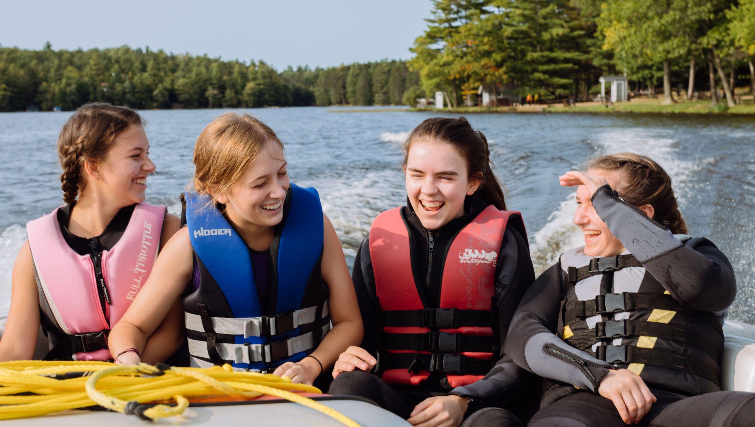 Vanguard Girls Waterskiing