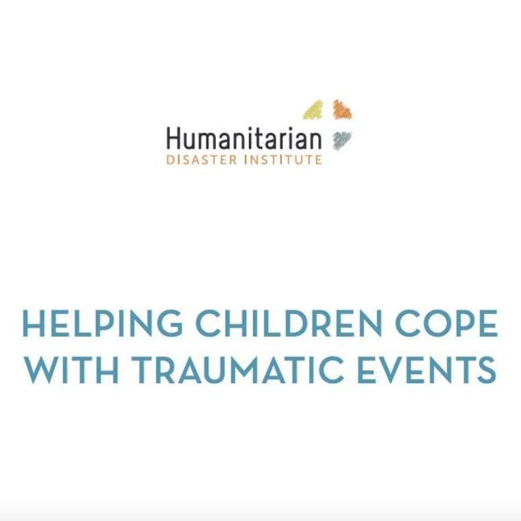 Humanitarian Disaster Institute Manuals