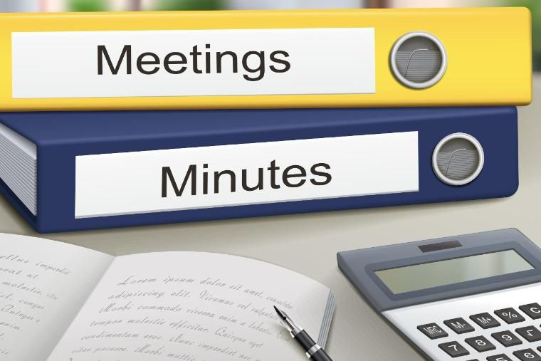 Meeting Minutes Binders