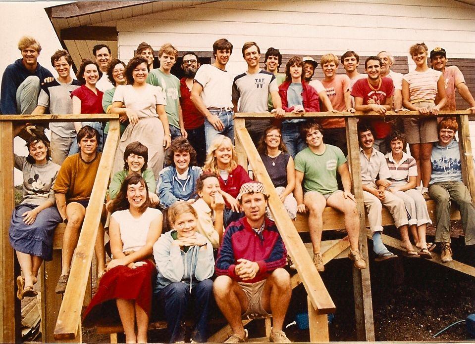 Honduras Project roatan team 1983
