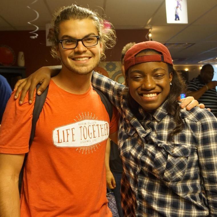CJ and Kiki Wheaton College Students