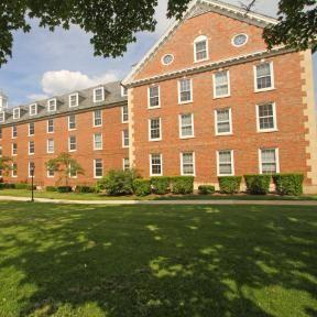 Mac Evans Dorm Wheaton College IL