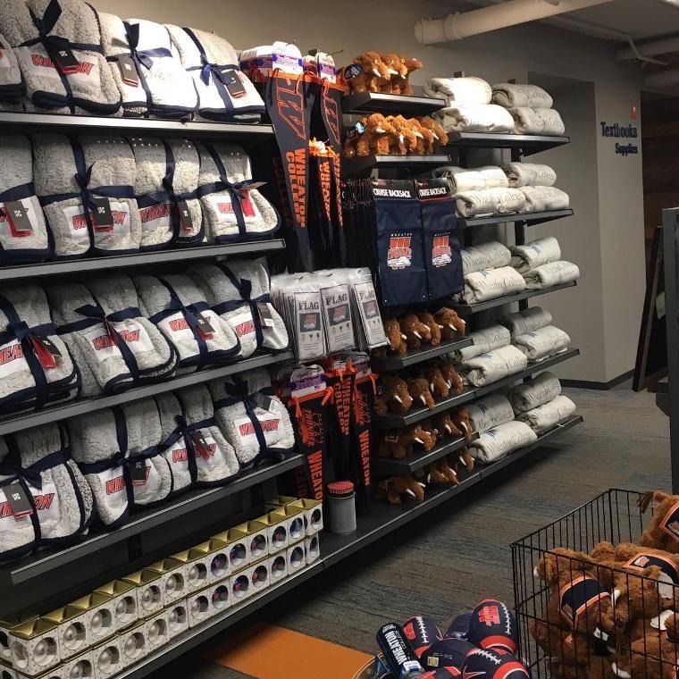 Wheaton College IL Campus Store Swag