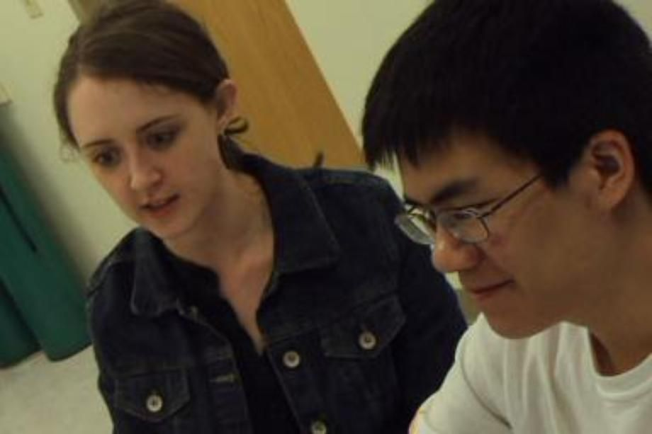 Dr. Heather Whitney with Student