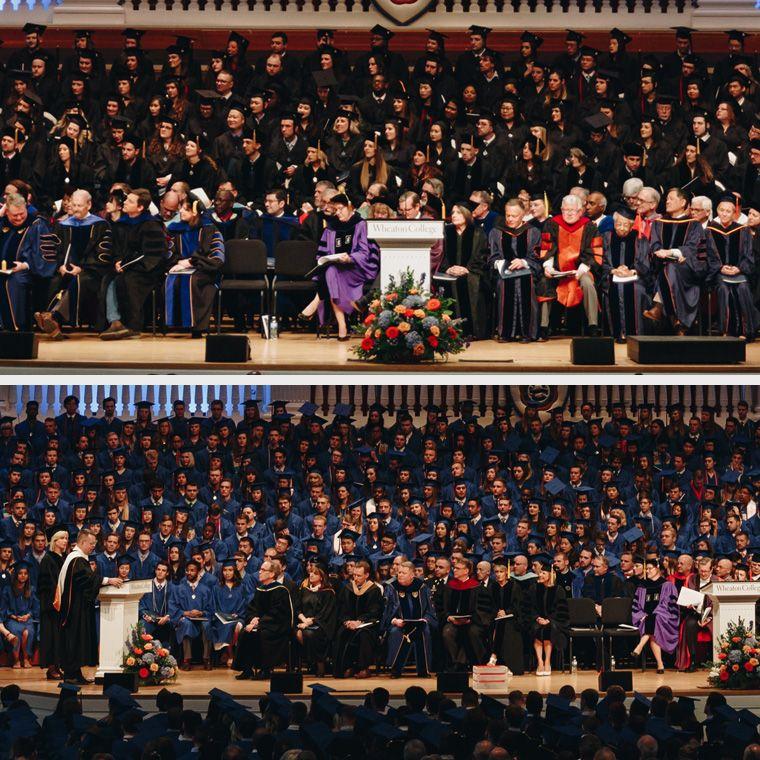Grad and Undergraduate Commencement