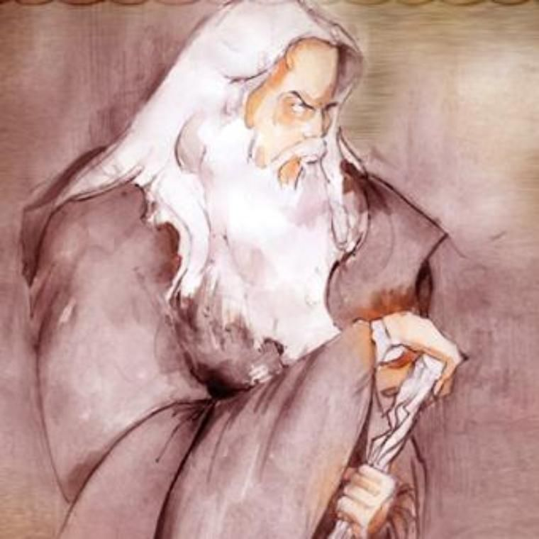 Gandalf Kouimzoglou graphic