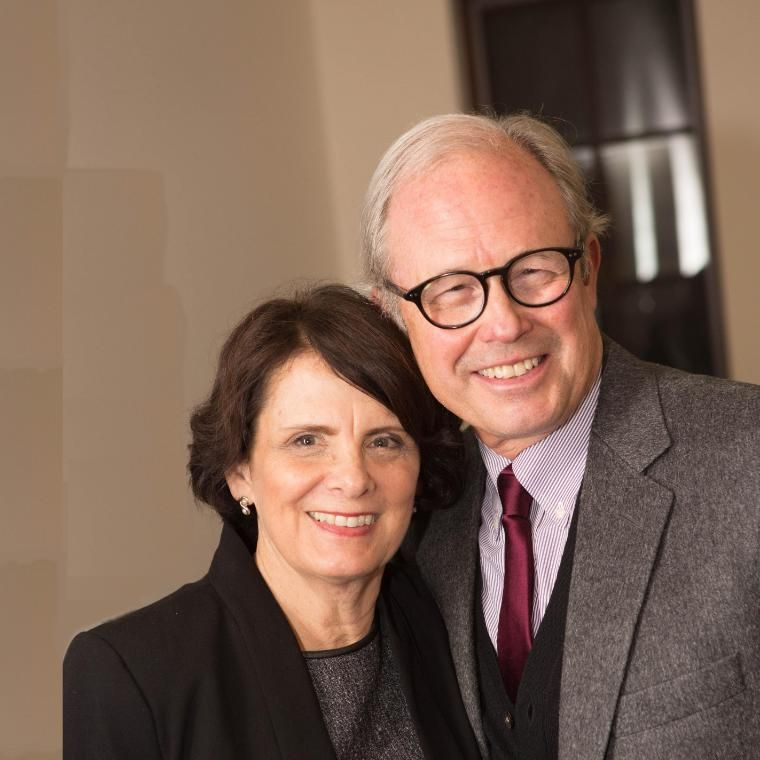 Walter and Darlene Hansen Portrait