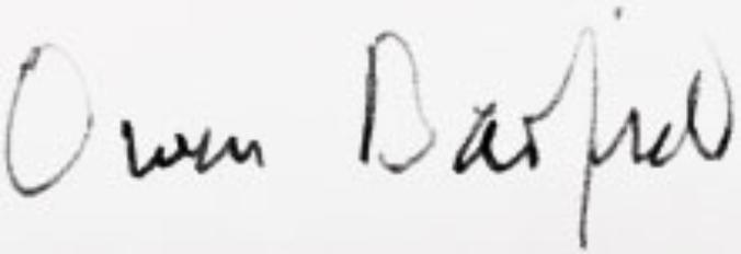 Barfield signature