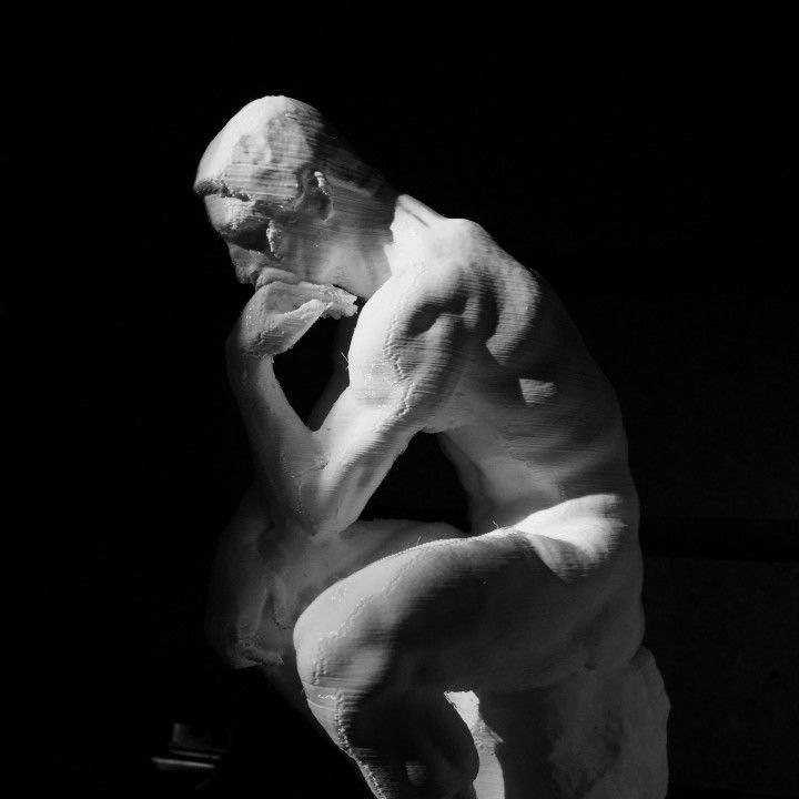 Larsen lecture 2 image - the thinker