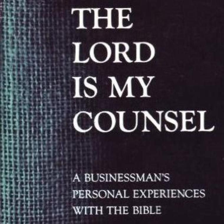 Lord is My Counsel book cover