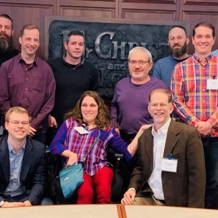 Wheaton College Disability Symposium Group Photo