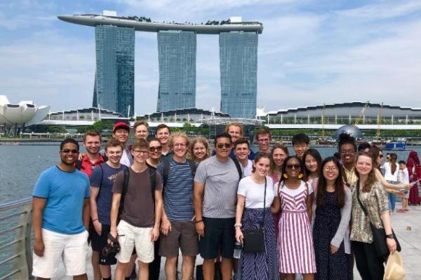 Singapore group shot