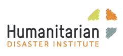 Humanitarian Disaster Institute Logo